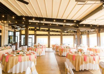 wedding reception linen