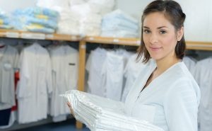 Hospital linen, laundry and uniforms